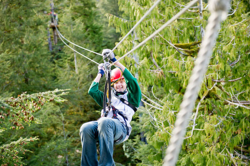 DCL Alaska Port Adventure Teen Only Canopy And Zip Line Expedition