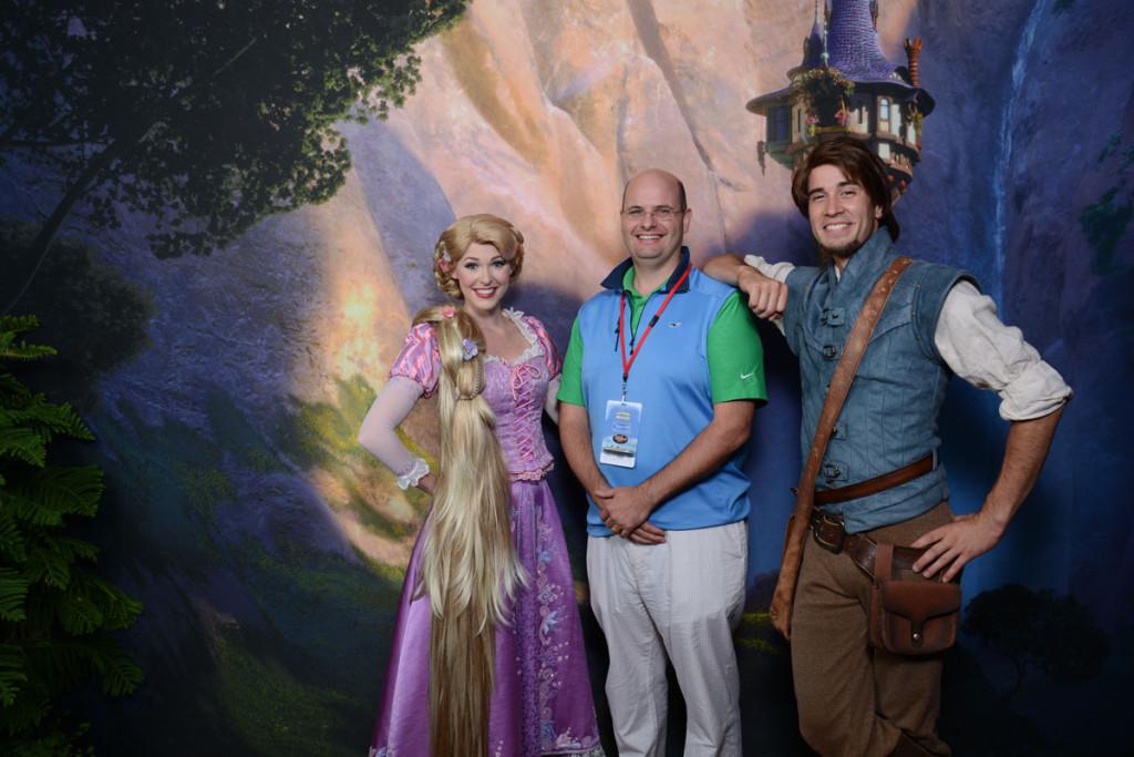 DCL Meet Up Flynn Rapunzel Tangled