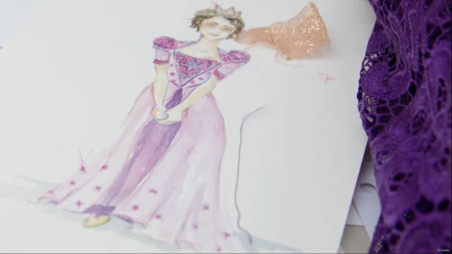 DCL Tangled Concept Rapunzel Costume
