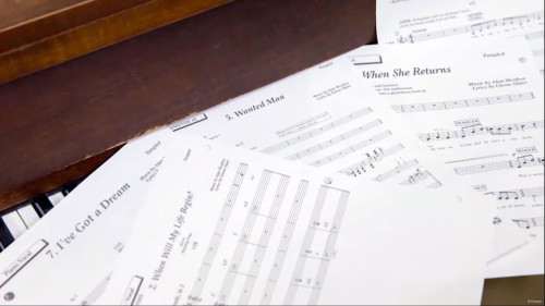 DCL Tangled Sheet Music