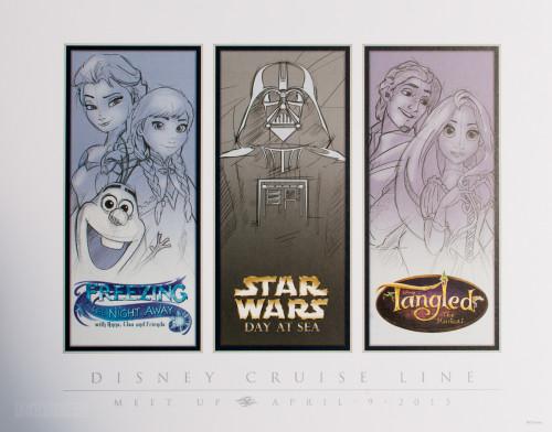 Disney Cruise Line Meet Up Print