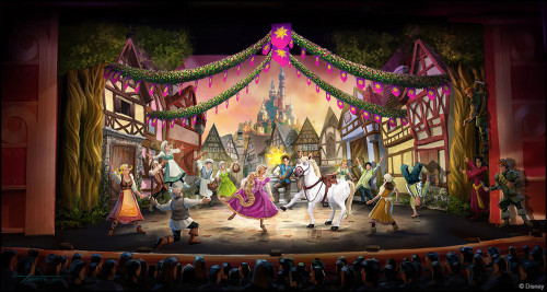 Tangled The Musical Concept Art