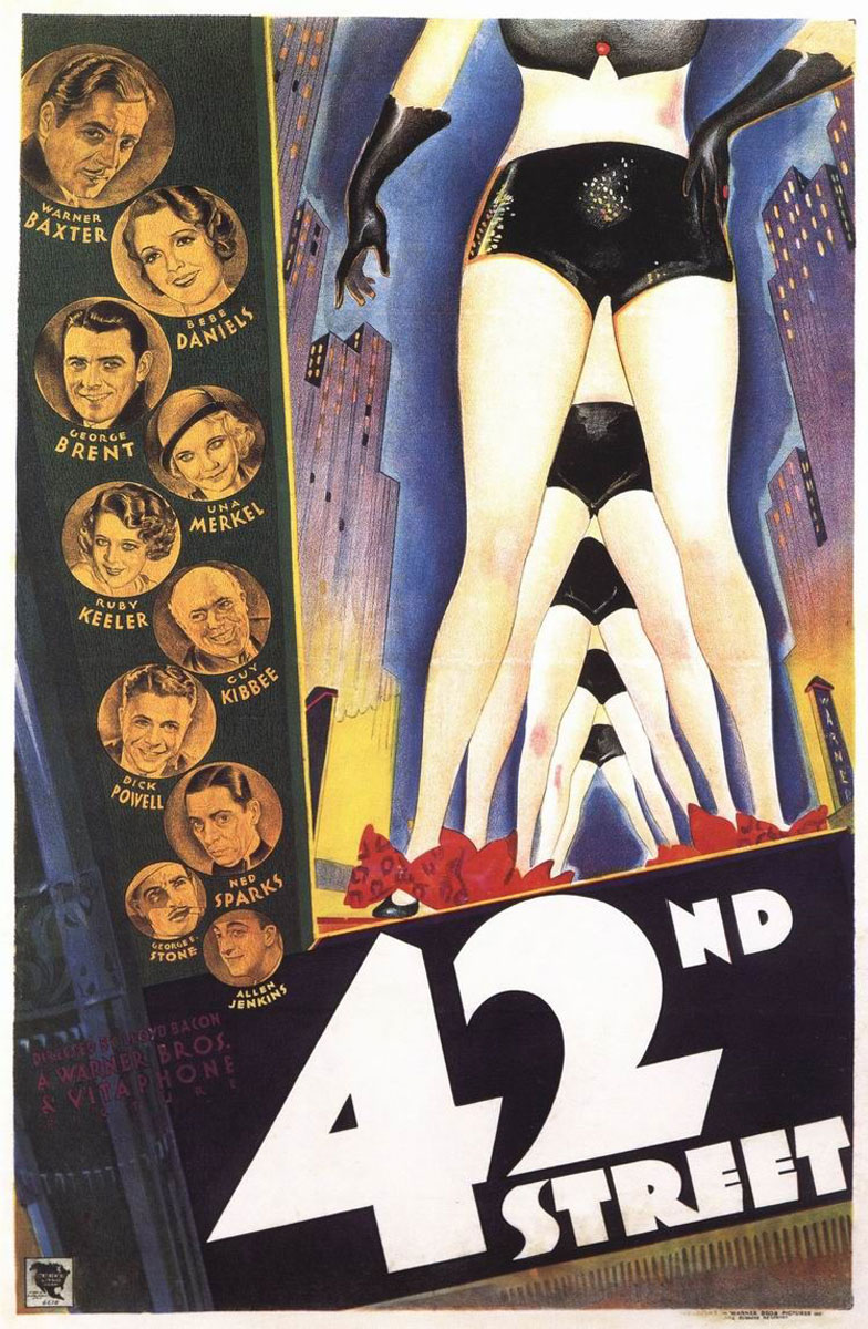 42nd Street Movie Poster