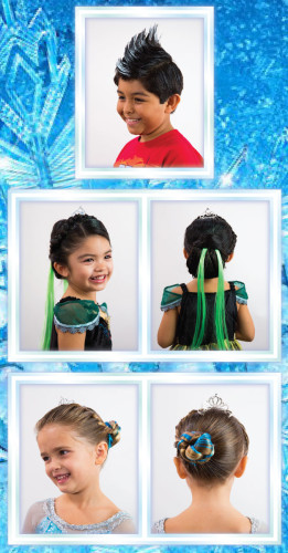 Anna Elsa Boutique Disneyland Hair Styles