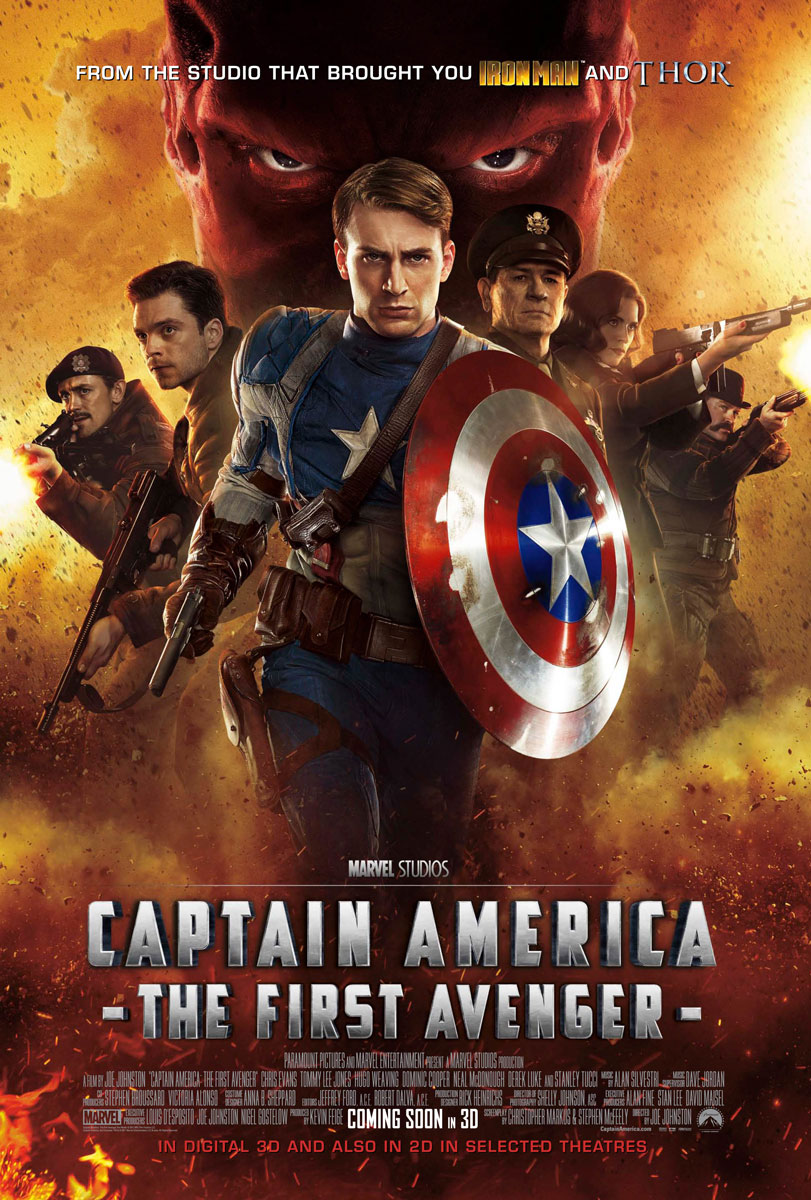 Captain America The First Avenger Movie Poster