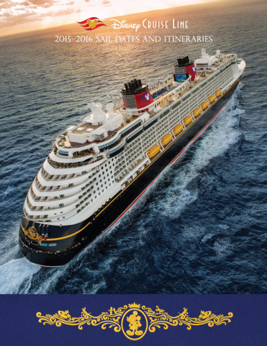 DCL Itinerary Brochure May 2015 2015 2016 Fall Dates Cover