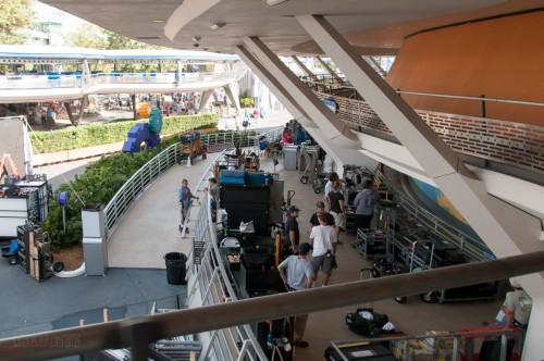 Tomorrowland Filming At Carousel Of Progress WDW Birds Eye Vie