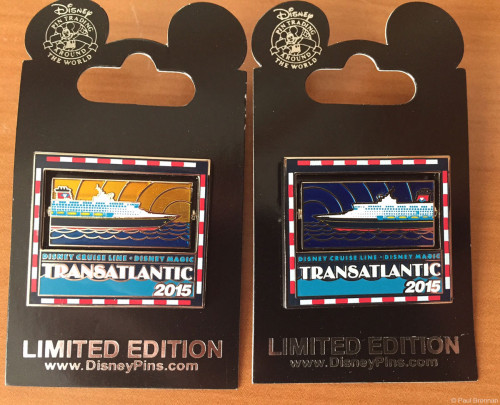 Disney Magic 2015 Transatlantic Pin
