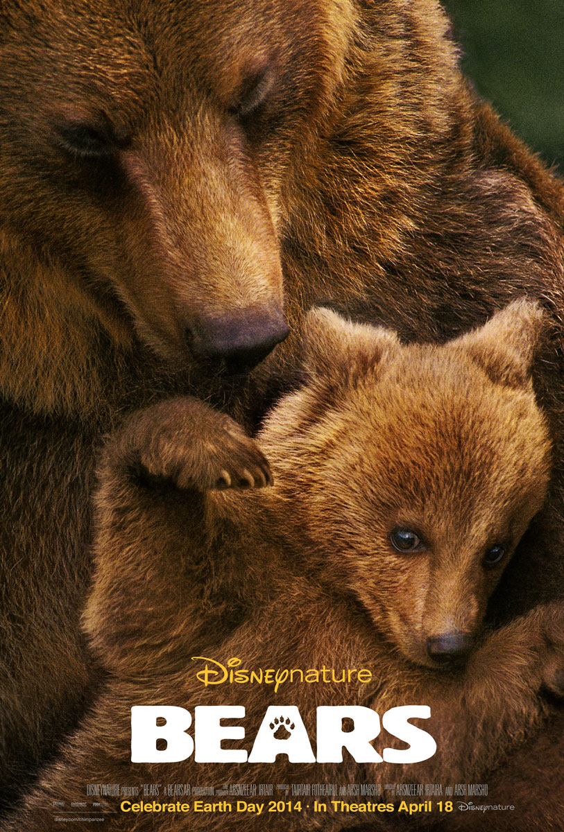 Disneynature Bears Movie Poster