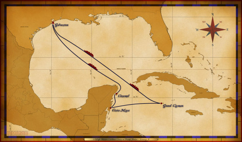 Map Magic 7 Night Western Caribbean Cruise On Disney Wonder Itinerary E