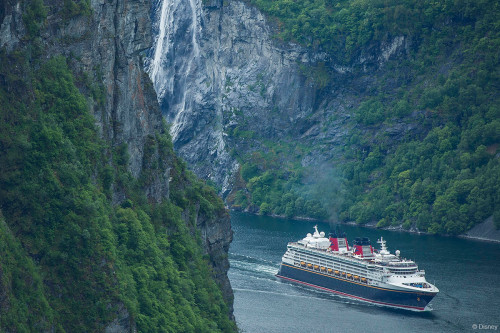 DCL Disney Magic First Call Geiranger