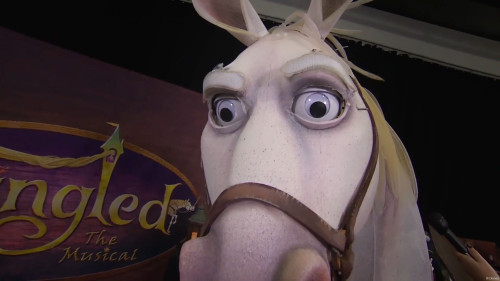 DCL Maximus Puppet Eyes Tangled The Musical