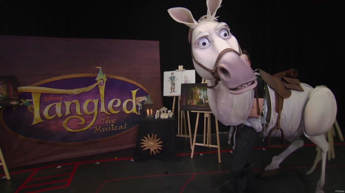 DCL Maximus Puppet Full Body Tangled The Musical