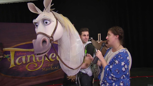 DCL Maximus Puppet Tangled The Musical
