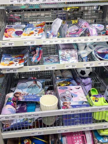 Copenhagen Grocery Store Frozen Merchandise