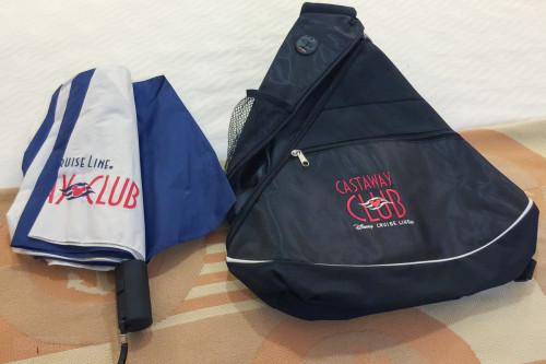 Platinum Castaway Club Bag And Umbrella