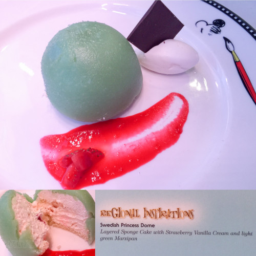 Let The Magic Begin Dessert Swedish Princess Dome