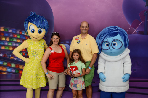 DCLBlog Inside Out Meet & Greet With Joy & Sadness