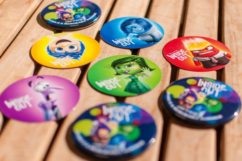 Inside Out Buttons Trading Cards