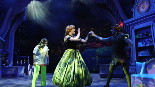 Disney Dreams Frozen Anne Marie Peter Pan Anna