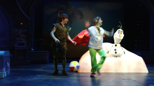 Disney Dreams Frozen Anne Marie Peter Pan Olaf