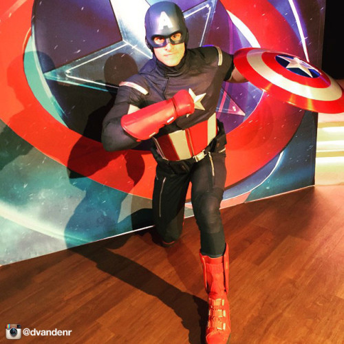 Disney Magic Captain America Instagram Dvandenr