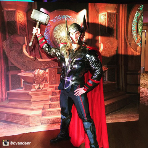 Disney Magic Thor Alternate Instagram Dvandenr