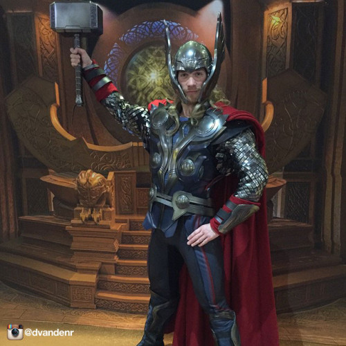 Disney Magic Thor Instagram Dvandenr