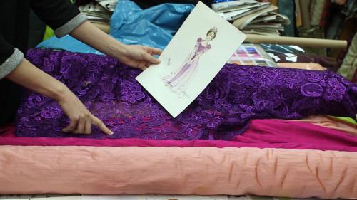 Tangled Costumes Rapunzel Dress Sketch