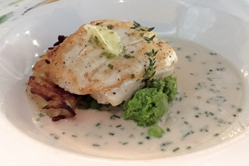 Carioca's Pan Seared Halibut