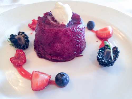 Lumiere's Summer Berry Pudding