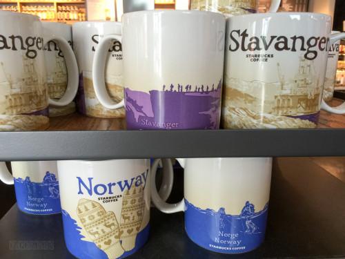 Stavanger Startbucks You Are Here Mugs