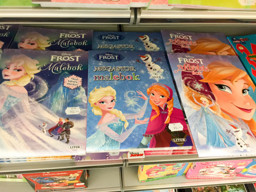 Norway Frozen Frost Coloring Books