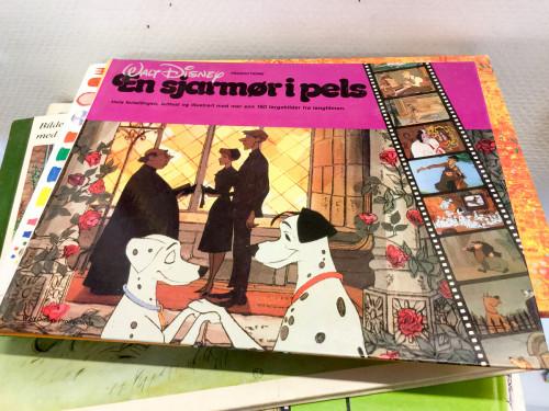 Norwegian 101 Dalmations Book