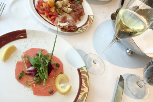 Palo Wine Pairing Tuna