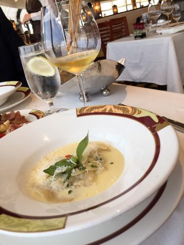 Palo Wine Tasting Lobster Ravioli