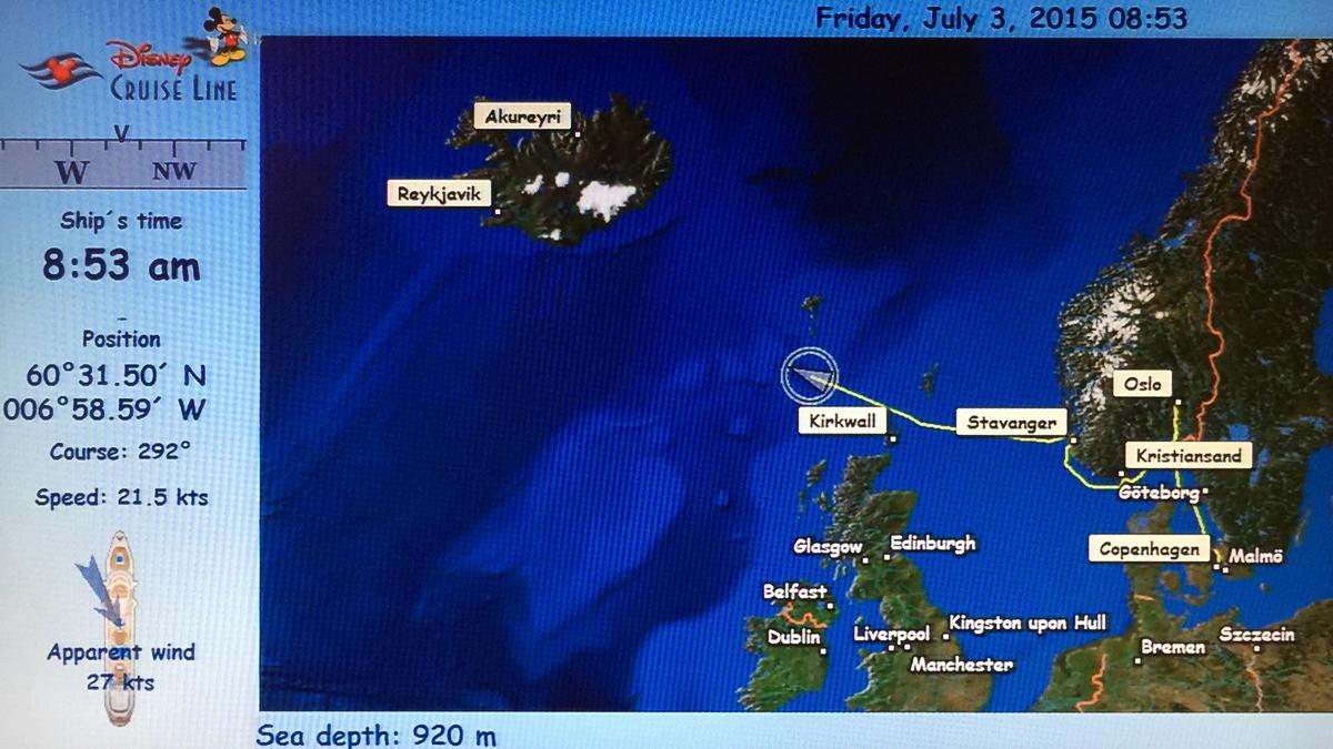 Stateroom Map Magic Sea July 3, 2015