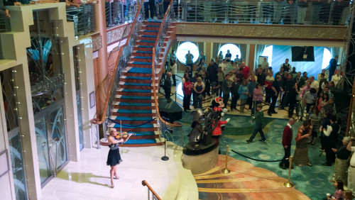 Greta Salome Violin Let It Go Disney Magic Atrium