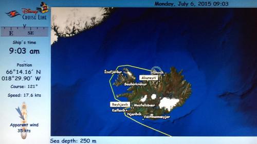 Stateroom Map Disney Magic Akureyri July 6 2015