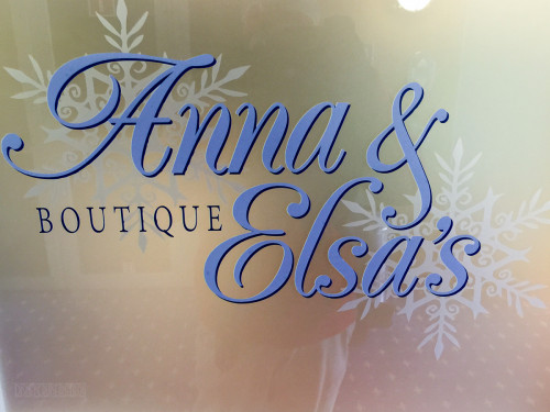 Anna & Elsa's Boutique Logo Disney Magic