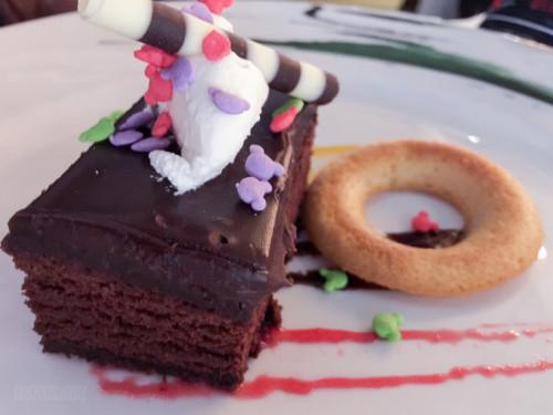 Frozen Childrens Menu Chocolate Brownie