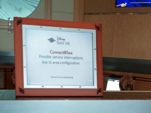 Connect At Sea Service Interuptions