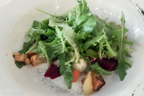 Land And Sea Roasted Carrot And Parsnip Salad
