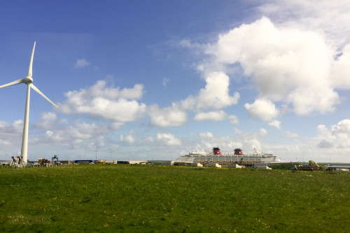 Disney Magic Kirkwall Scotland Orkney Islands Wind Power