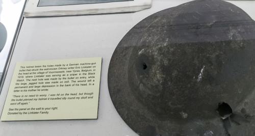 Orkney Museum Eric Linklater Helmet