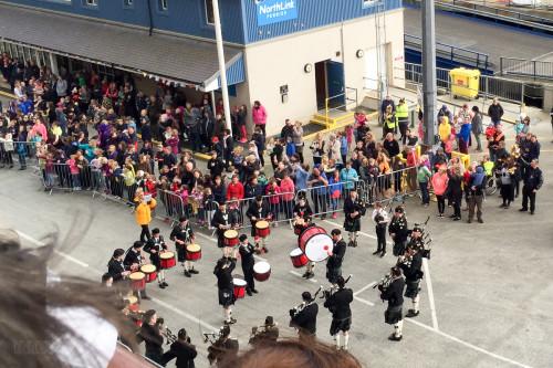 Kirkwall City Pipe Band Farewell