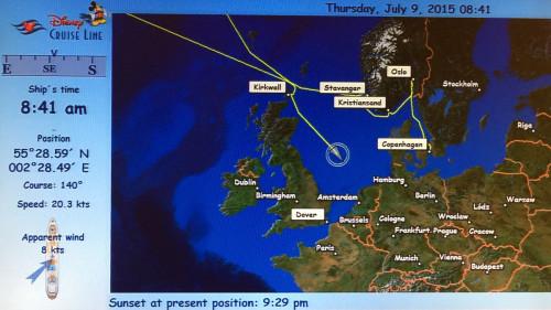 Stateroom Map Magic July 9 2015 Sea