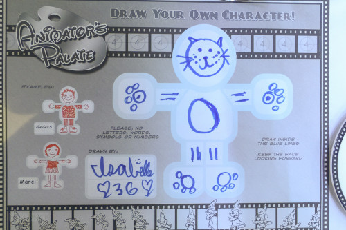 Animation Magic Character Placemat