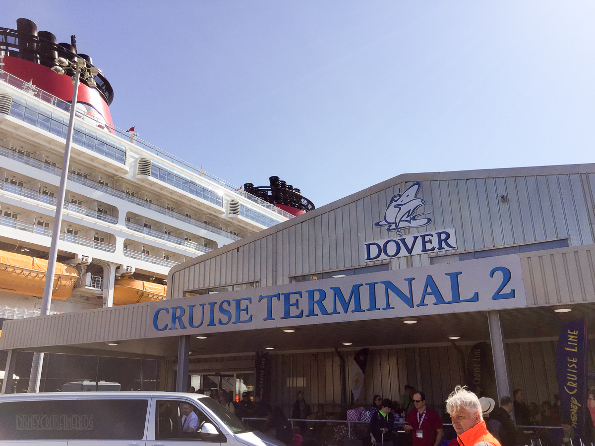 Dover Cruist Terminal 2 Disney Magic