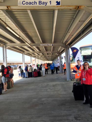 Dover Cruise Terminal 2 Bus Depot